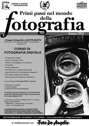Primi Passi nel Mondo della Fotografia Digitale – Edizione 2011